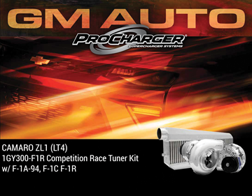 Picture of 1GY300-F1R - 2017-19 CAMARO ZL1 (LT4) Competition Race Tuner Kit w/F-1A-94, F-1C or F-1R