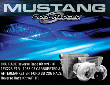 Picture of 1FX223-F1R - 1985-93 CARBURETED & AFTERMARKET EFI FORD SB COG RACE Reverse Race Kit w/F-1R