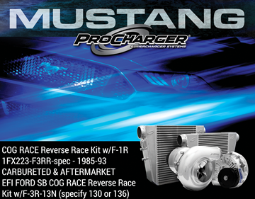 Picture of 1FX223-F3RR-spec - 1985-93 CARBURETED & AFTERMARKET EFI FORD SB COG RACE Reverse Race Kit w/F-3R-13N (specify 130 or 136)