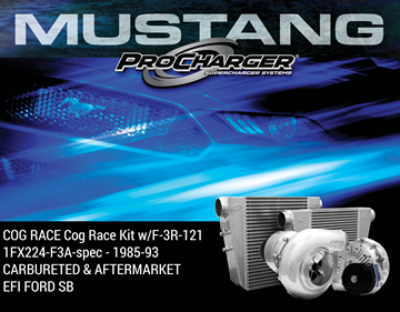 Picture of 1FX224-F3A-spec - 1985-93 CARBURETED & AFTERMARKET EFI FORD SB COG RACE Cog Race Kit w/F-3R-121