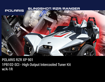 Picture of 1PB102-SCI - 2011-12 POLARIS RZR XP 901 High Output Intercooled Tuner Kit w/A-1R