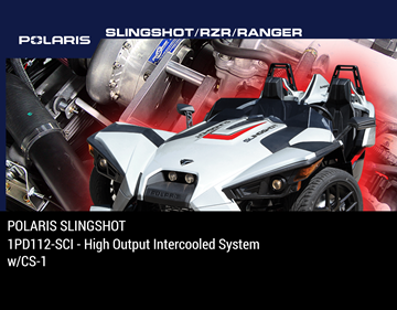 Picture of 1PD112-SCI - 2015-18 POLARIS SLINGSHOT High Output Intercooled System w/CS-1