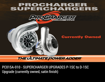 Picture of PC015A-010 - SUPERCHARGER UPGRADES P-1SC to D-1SC Upgrade (currently owned, satin finish)