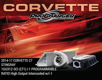 Picture of 1GU312-SCI - 2014-17 CORVETTE C7 STINGRAY (LT1) i-1 PROGRAMMABLE RATIO High Output Intercooled w/i-1